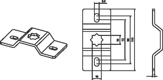 Bracket A3006 Image