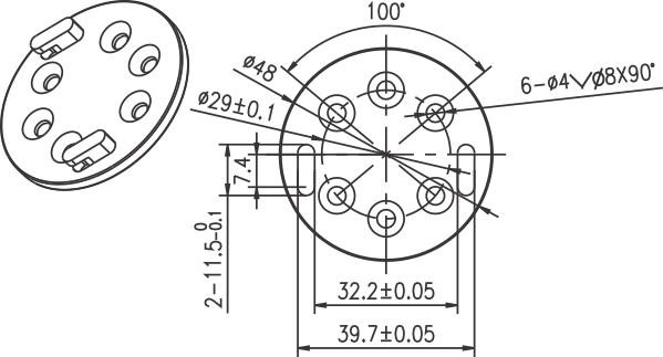 Bracket A3207 Image