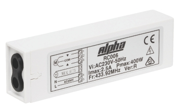 alpha receiver
