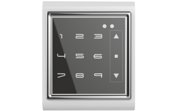 Keypad wall mount control